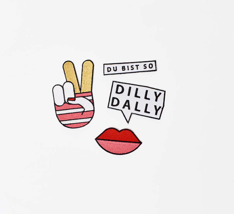 Dilly Dally Produkte - Patches