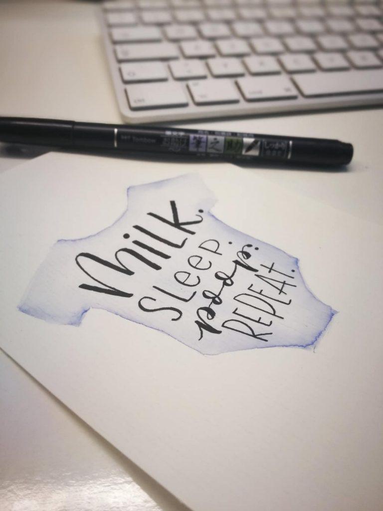Letter_dir_einen